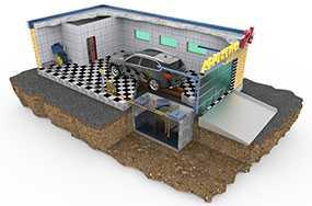 Проектирование автомоек для легковых автомобилей