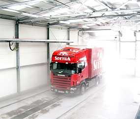 Проектирование автомоек для грузовых автомобилей