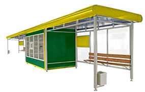 Изготовление торгово-остановочных павильонов