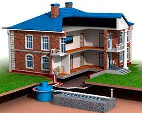 Проектирование очистных сооружений хозяйственно-бытовой канализации