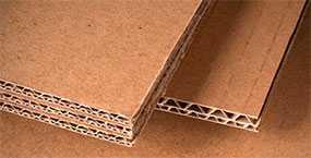 Производство картона гофрированного трехслойного по индивидуальному заказу
