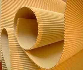 Производство бумаги для гофрирования по индивидуальному заказу (форматы исходя из обрезной ширины машины 2520 мм)
