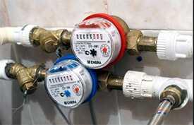 Установка счетчиков водоснабжения (согласно проектной документации)