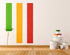 Покраска (окраска) стен и потолков