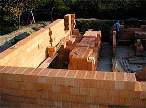 Монтаж каменных и армокаменных конструкций