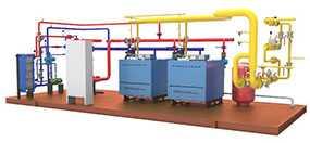Проектирование котельных на газообразном топливе (газовых котельных)