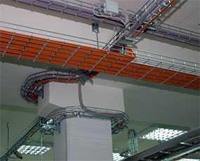 Полная замена кабельных трасс и монтажных проводов