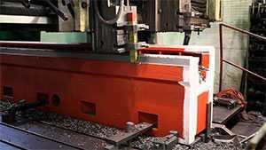 Строгальная обработка металла на продольно-строгальном станке