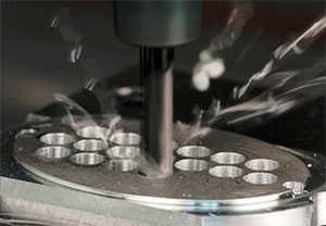 Сверление отверстий в металле на координатно-сверлильном станке