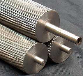 Накатывание рифлений на изделия из металла