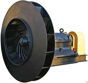 Замена направляющих аппаратов и рабочих колес дымососов с последующей балансировкой