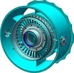 Замена направляющих аппаратов и рабочих колес вентиляторов с последующей балансировкой