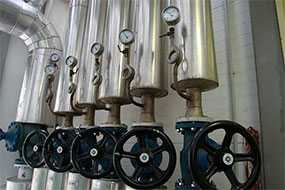 Ремонт, реконструкция, замена трубопроводов пара