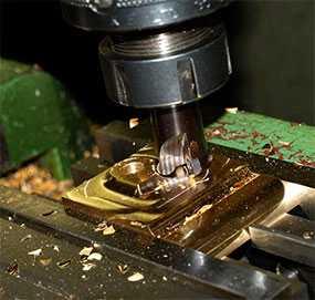 Фрезерование поверхностей вращения изделий из металла