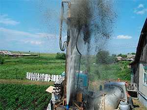 Ремонт скважины методом гидроудара