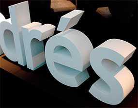 Изготовление несветовых объемных и псевдообъемных букв