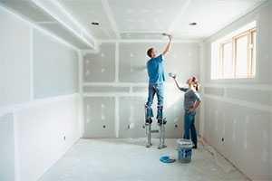 Подготовка стен и потолков под покраску и оклейку обоями
