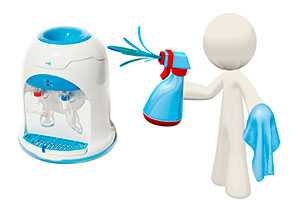 Санитарная обработка (дезинфекция) оборудования для воды (кулеров)