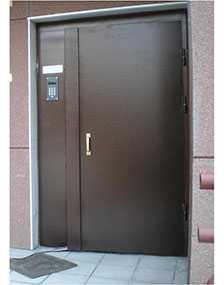 Изготовление металлических дверей для подъездов