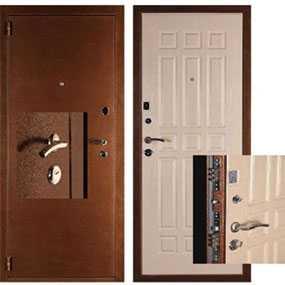 Изготовление усиленных металлических дверей