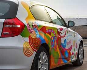 Создание и размещение рекламы на автомобиле
