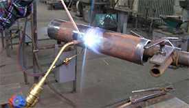 Газоплазменная сварка металлических изделий