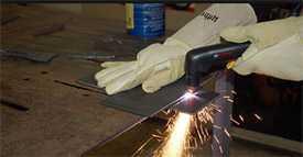 Обработка металлов ручной плазменной резкой