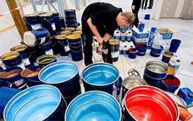 Производство лакокрасочной продукции под конкретные требования заказчика