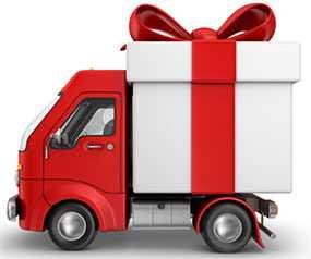 Доставка подарков в городах Украины