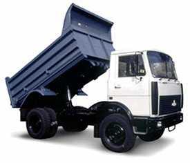 Аренда самосвала МАЗ - грузоподъемность до 10 тонн
