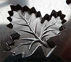 Производство матриц для изготовления украшений из шоколадной глазури (многоразового использования)