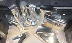 Производство малогабаритных коробок из металлизированного картона