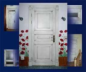 Обновление (реставрация) отделки дверей