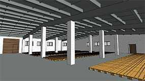 Монтаж железобетонных сборных плит перекрытий