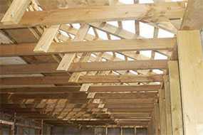 Устройство несущих деревянных конструкций