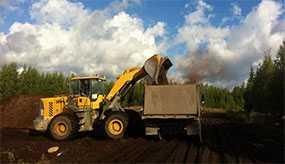 Вывоз растительного грунта
