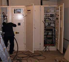 Монтаж внутренних сетей электроснабжения (КЛ, осветительные и силовые сети)