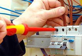 Техническое обслуживание внутренних систем электроснабжения