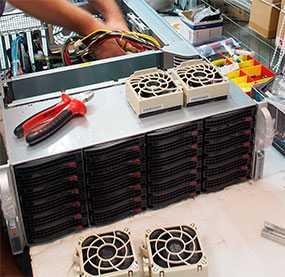 Сборка на заказ серверов и рабочих станций