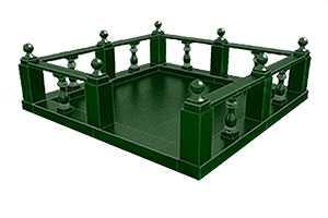 Изготовление и установка оград из натурального гранита