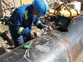Контроль качества сварных соединений и основного металла