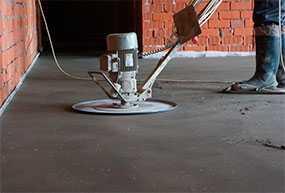 Шлифовка пола (напольного основания) перед нанесением наливного пола