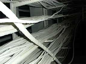 Огнезащитное покрытие металлических кабелей методом аппаратного (безвоздушного) распыления