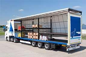 Автомобильная перевозка грузов с использованием допельштоков