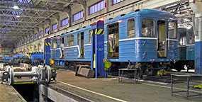 Ремонт пассажирских вагонов