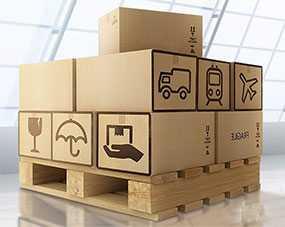 Хранение грузов на крытых складах железнодорожных станций