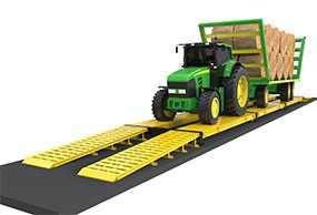 Взвешивание автотранспорта на автомобильных весах (до 60 тонн)