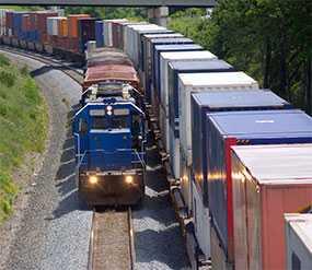 Подача и уборка вагонов к местам погрузки (выгрузки) необщего пользования