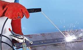 Ручная электродуговая сварка металлов