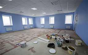 Косметический ремонт офисных помещений (офисов)